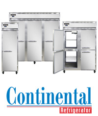 Reach-ins, Pizza Prep, Sandwich Units, Bar Equipment, Milk Coolers